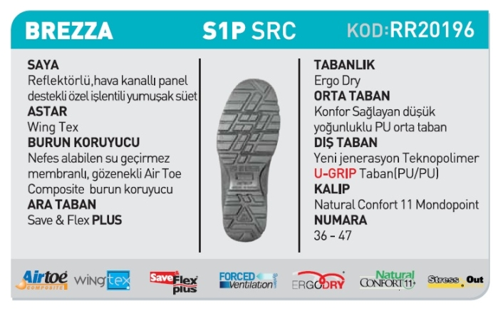 u-power-brezza-s1p-src-is-ayakkabisi