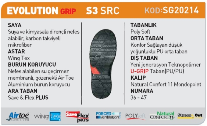 u-power-evolution-grip-s3-src-is-ayakkabisi