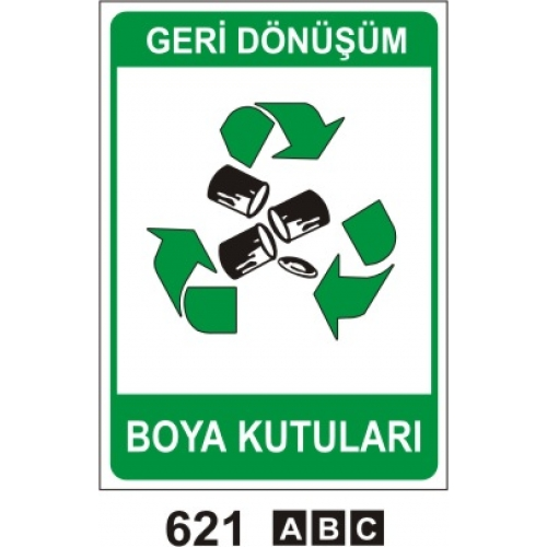 Geri Donusum Boya Kutusu Og Lvh 621 0 00 Tl Kdv